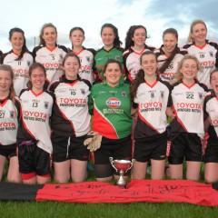 Minor Girls Win County A Championship