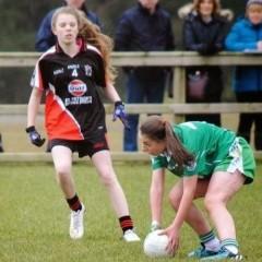 U14 Girls in Connacht Final