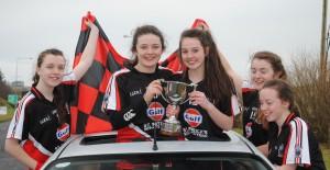 U16 Girls Connacht Champions