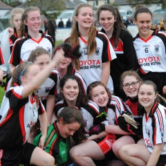 U16 Girls Are Double County Champions
