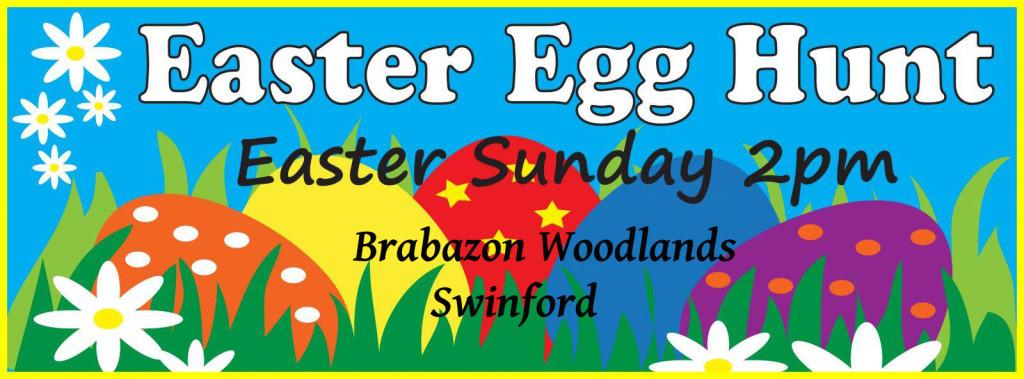 Easter Egg Hunt Swinford poster 2016 copy