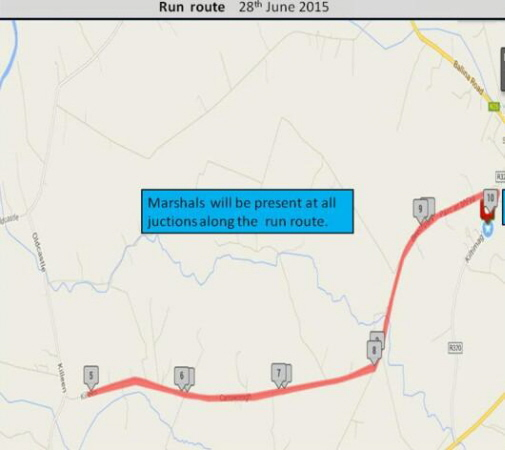 The Humbert Challenge Triathlon finishes with a 10km run around the town of Swinford. Visit Swinford.ie for more details.
