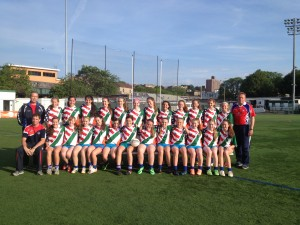 NY team Ladies Gaelic Team