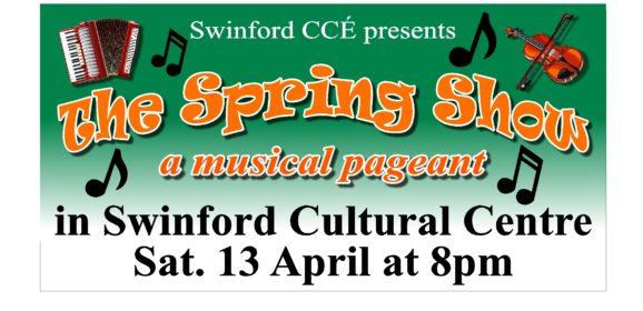 Swinford Comhaltas Spring Show, April 13th 2019