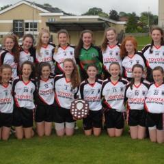 U14 Girls Win Connacht Division 1 Feile