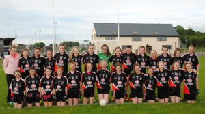 Swinford Killasser Ladies Gaelic Football under 14 div3