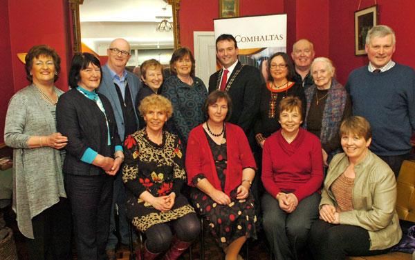 Members of the Swinford organising committee for the Mayo Fleadh
