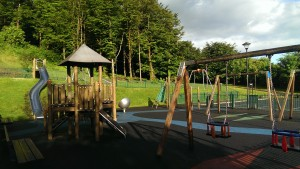 Swinford Playground beside brabazon woods