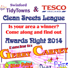Swinford Clean Street League Awards this Friday Night