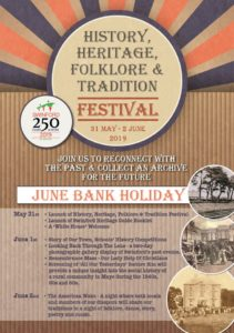 Swinford History, Heritage, Culture, Folklore & Tradition Festival 2019
