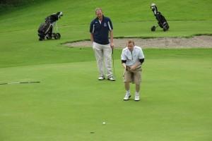 michael Rowley and Eugene Maloney Swinford Golf Club